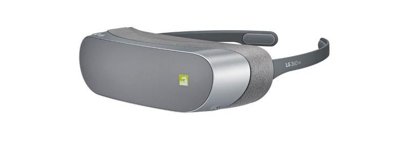 Eine leichte, schmale VR-Brille für das LG G5. (Foto: LG)