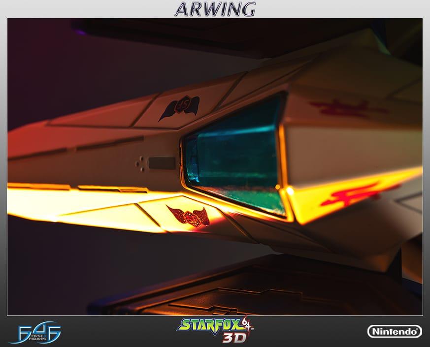 Star Fox Arwing. (Foto: First 4 Figures)