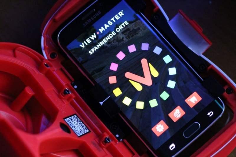 Die App muss erst gestartet werden, beovr ihr die Brille schließen dürft. (Foto: GamingGadgets.de)