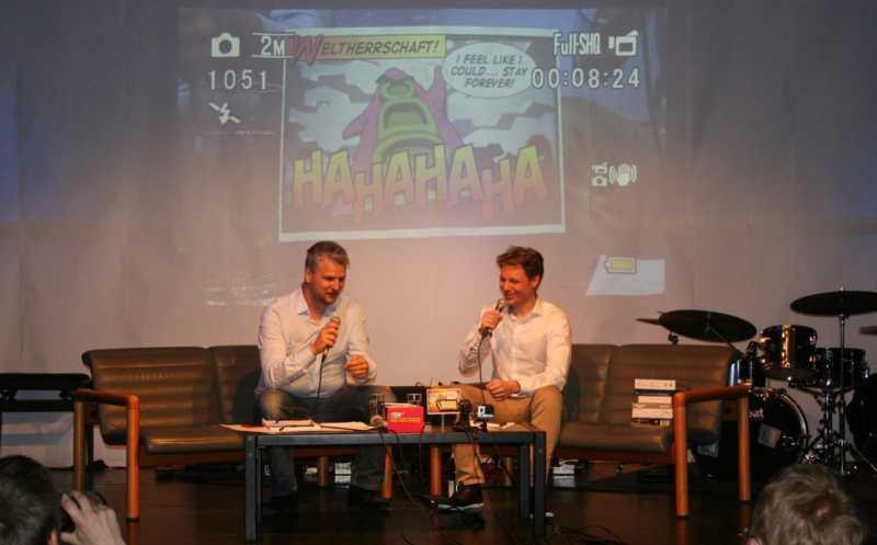 Beim Gamefest geht es mehr um Unterhaltung. (Foto: Computerspielemuseum Berlin)