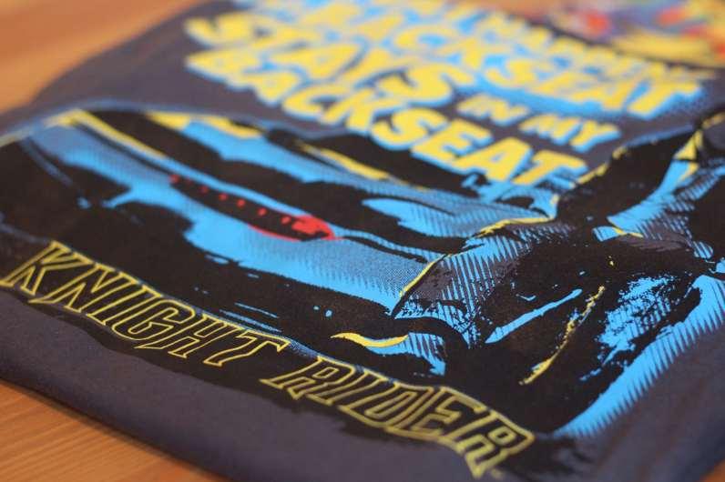 Knight Rider T-Shirt. (Foto: GamingGadgets.de)