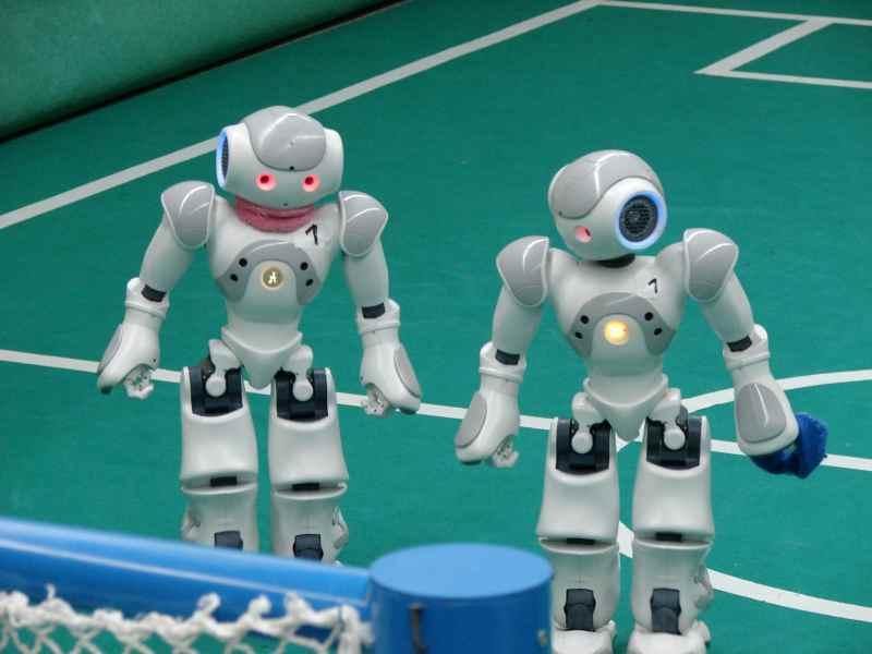 Das Roboter-Turnier findet ganz in der Nähe auch statt. (Foto: Schreibfabrik)