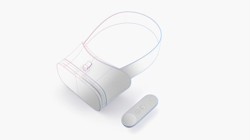 Das neue Konzept: Eine richtige Brille mitsamt Controller. (Foto: Google)