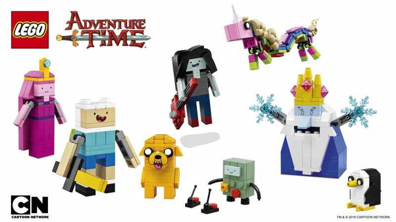 Das sind sie alle. (Foto: LEGO)
