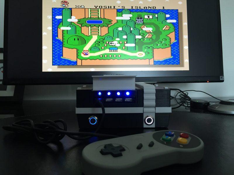 Auch das war mal ein NES. (Foto: Hackaday)