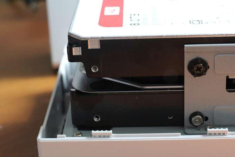 Jetzt zwei Platten in meinem NAS. (Foto: GamingGadgets.de)