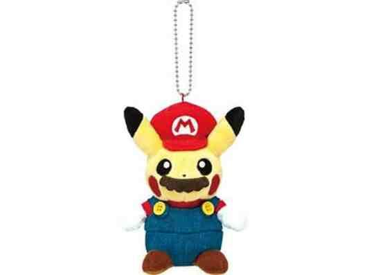 Mario Pikachu Schlüsselanhänger. (Foto: Nintendo)