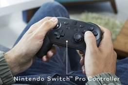 Der optional erhältliche Pro-Controller. Ein vernünftiges Gamepad. (Foto: Nintendo)