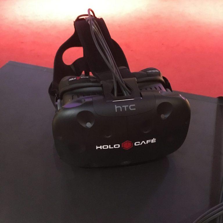 Zum Einsatz kommt HTC Vive. (Foto: Robert Morawitz)