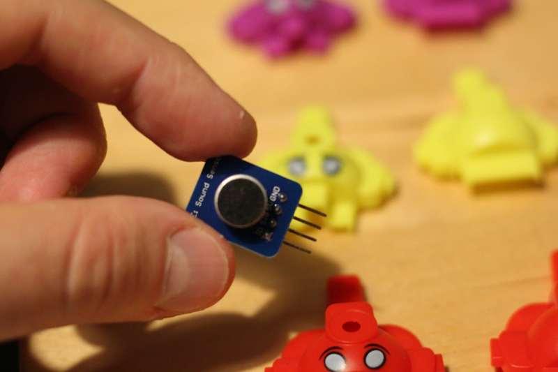 Einer der Sensoren. (Foto: Sven Wernicke)