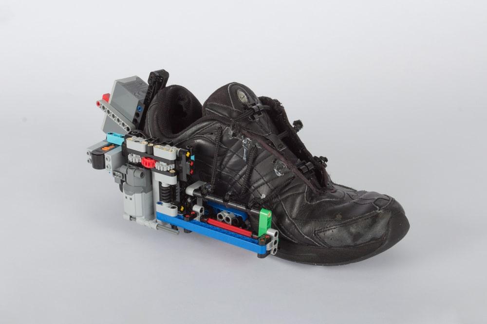 Schuhe Mcfly Es Aus Marty LegoMacht Selbstbindende Wie eWEID29HY