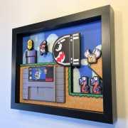 Video Game Shadow Boxes: Wunderschöne Retro-Werke für die Wand
