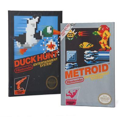 Duck Hunt und Metroid. (Foto: ThinkGeek)