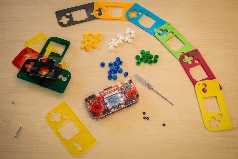 DIY gilt auch fürs Gehäuse. (Foto: Makerbuino)