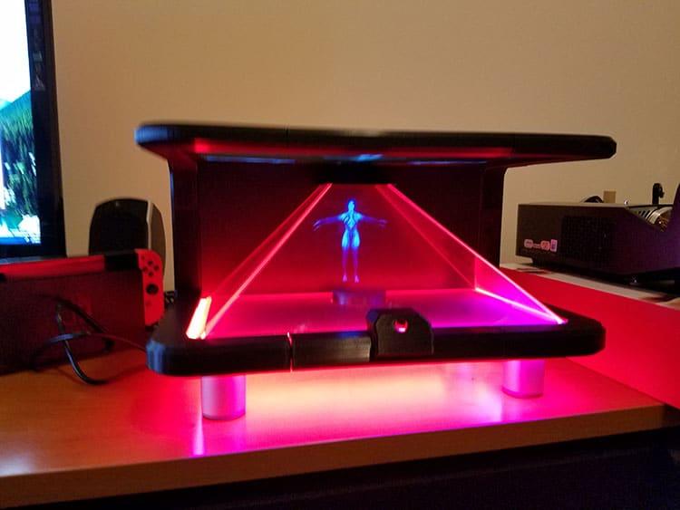 Die LEDs lassen sich kontrollieren. (Foto: Jarem Archer)