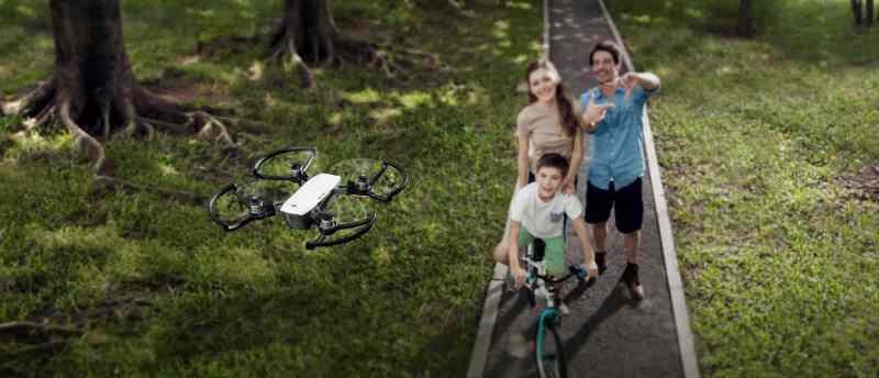 Quasi eine Selfie-Drohne. (Foto: DJI)