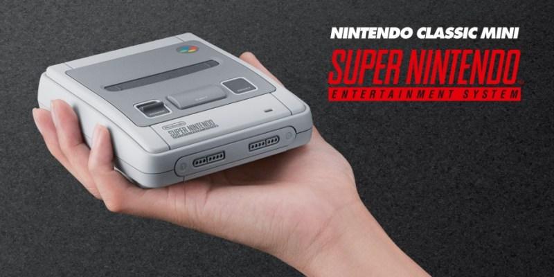 Bereits Ende September erscheint das Mini SNES. (Foto: Nintendo)