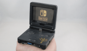 Nintendo Switch SP: Dock Station aus altem Gameboy Advance SP gebaut