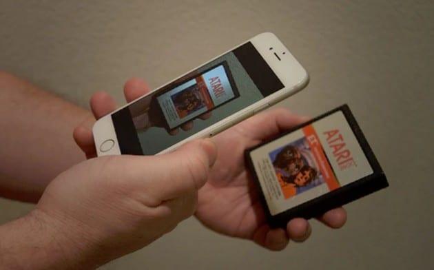Scannt eure alten Module ein, die Konsole findet das passende Spiel im Internet. (Foto: Dream Arcades)