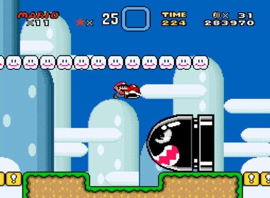 Super Mario World fehlt nicht. (Foto: Screenshot / Andreas Müller)