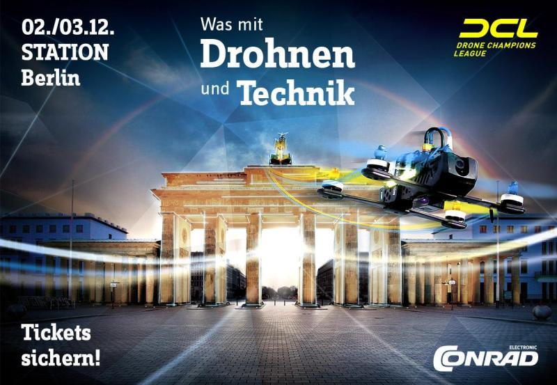Was mit Drohnen und Technik. (Foto: Conrad Electronic)