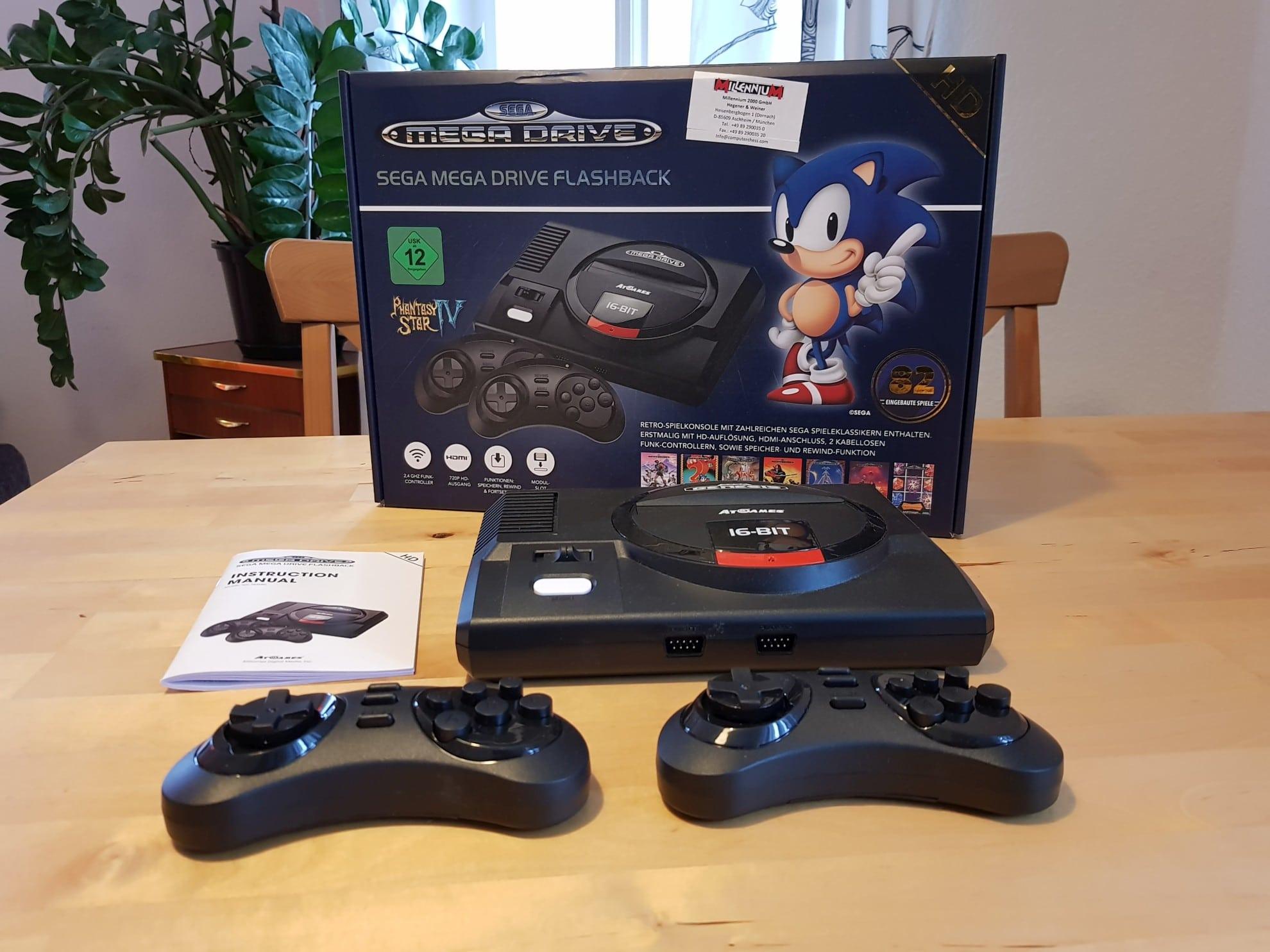 Sega Mega Drive Flashback HD im Test