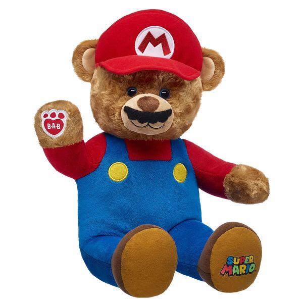Super Mario Bear. Zum Kuscheln. (Foto: Build A Bear)