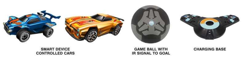 Das ist beim Hot Wheels Rocket League Rivals Set dabei. (Foto: Psyonix)