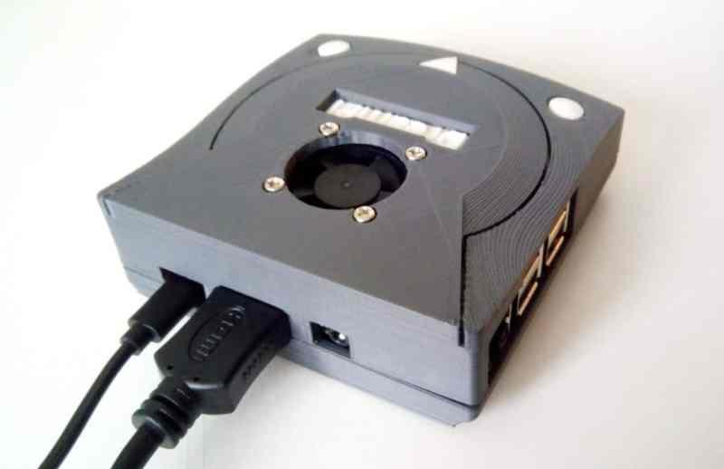 Die Mini Dreamcast von hinten. (Foto: Thingiverse)