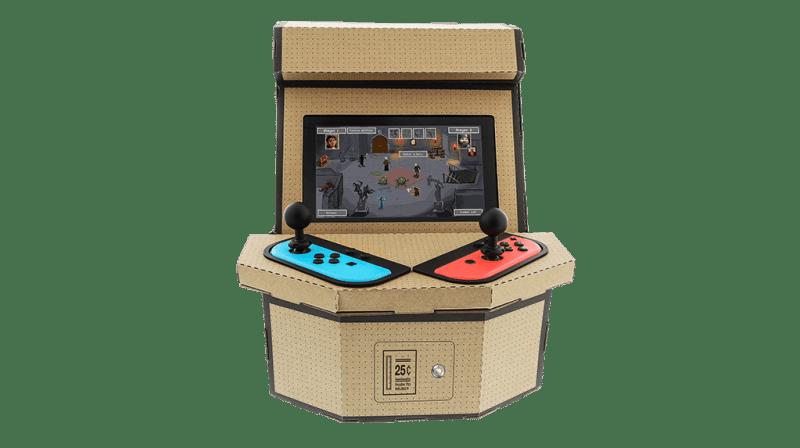 Das PixelQuest Arcade Kit von vorne. (Foto: Nyko)