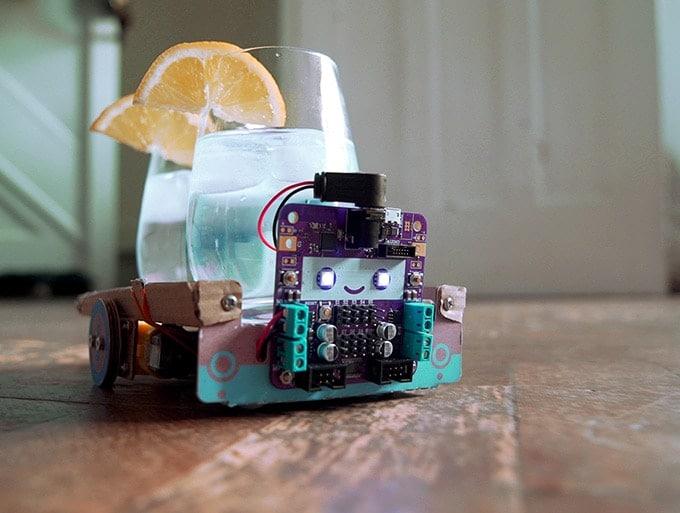 Baut flexible Maschinen mit dem Smartibot. (Foto: Ross Atkin)