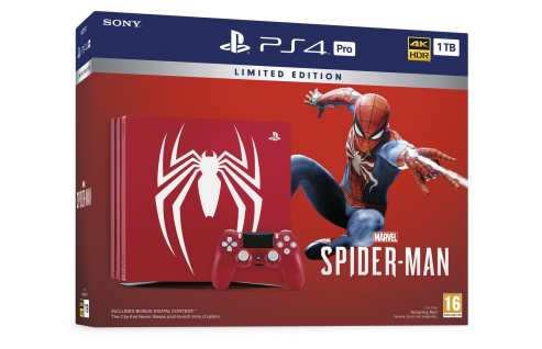 PS4 Pro im Spider-Man-Design. (Foto: Sony)