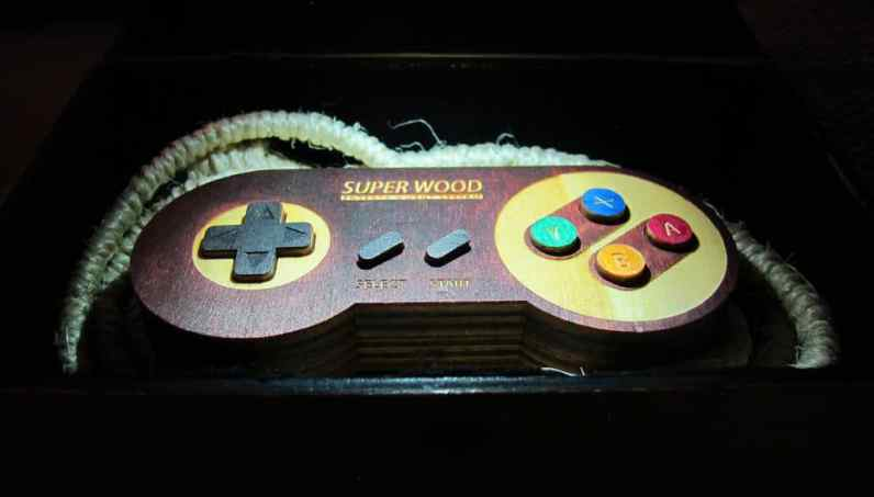 Super Wood Entertainment System. (Foto: Instructables)