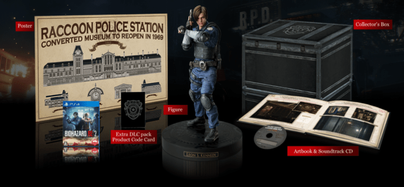 Resident Evil 2 Collector's Edition. (Foto: Capcom)