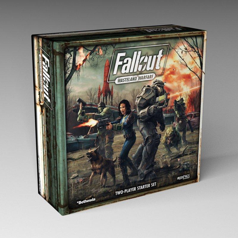 Fallout: Wasteland Warfare besitzt einen KI- und Coop-Modus. (Foto: Modiphius)
