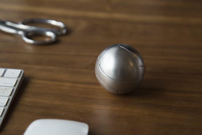 Schick sieht die Kugel aus. (Foto: Craighill)