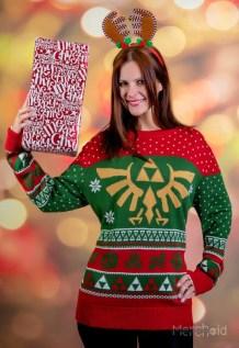 Zelda Weihnachtspullover. (Foto: Merchoid)
