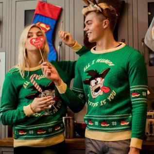 Crash Bandicoot Weihnachtspullover. (Foto: Geekstore)