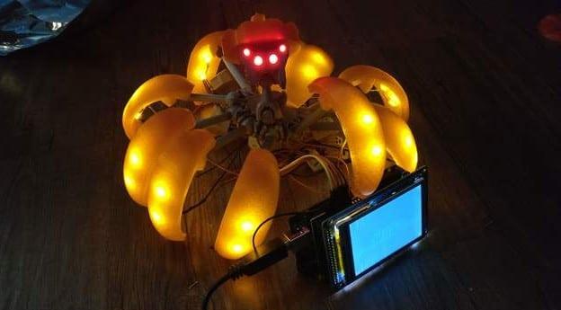 Es gibt schon eine LED-Mod. (Foto: Thingiverse)