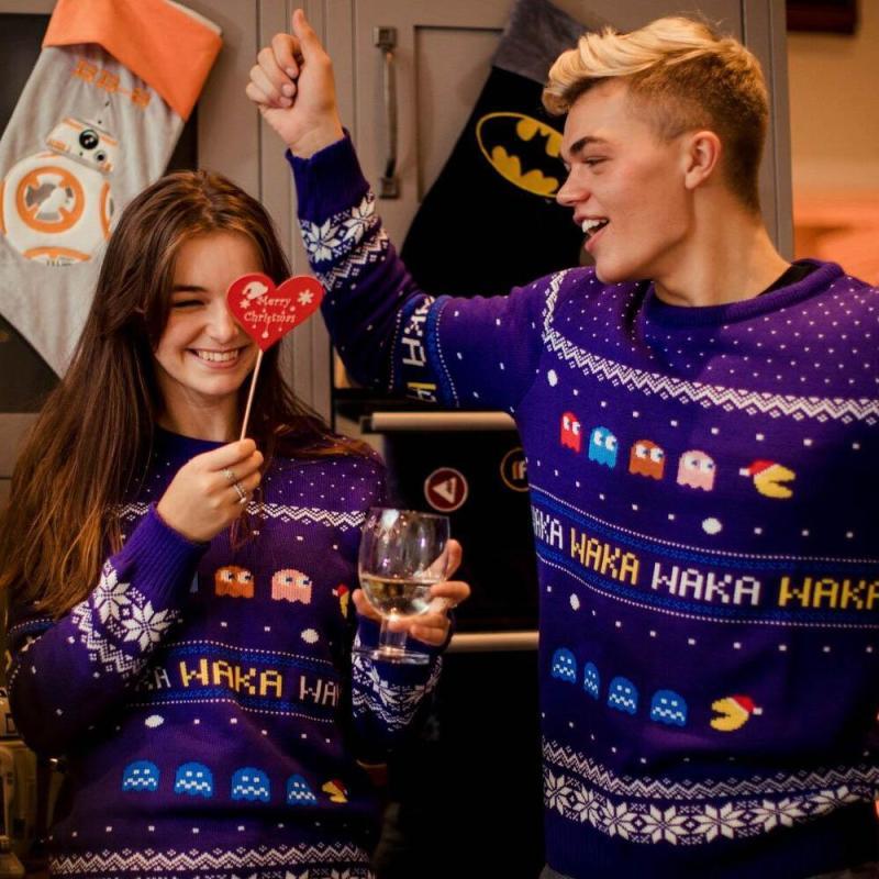 Pac-Man zu Weihnachten. (Foto: Geekstore)