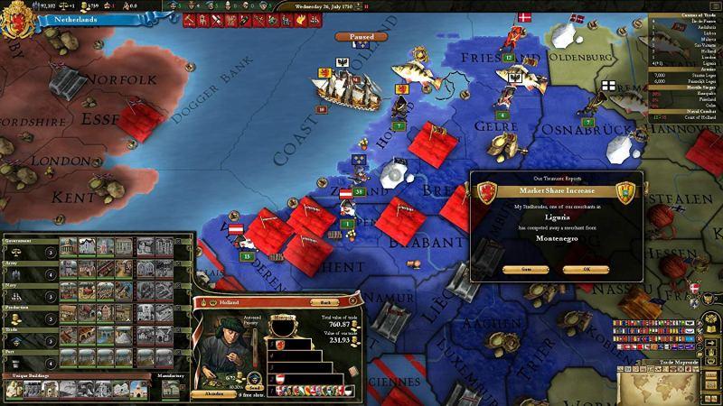 Auch ein echtes Strategie-Schwergewicht: Europa Universalis 3. (Foto: Paradox)