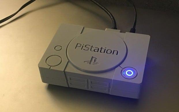 Diese PiStation stammt aus dem 3D-Drucker. (Foto: Thingiverse)