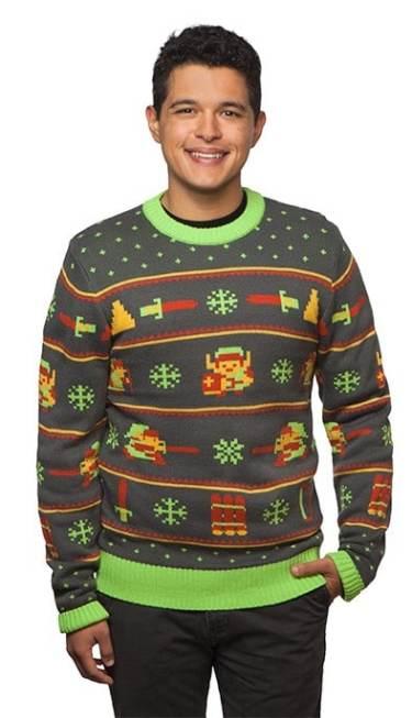 Zelda Holiday Sweater. (Foto: ThinkGeek)