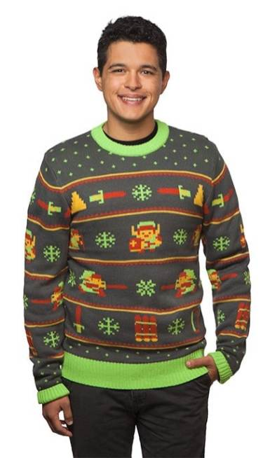 Zelda Holiday Sweater. (Foto: ThinkGeek)
