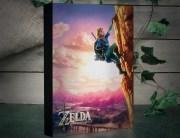The Legend of Zelda Luminart: Beleuchtetes Kunstwerk für die Wand