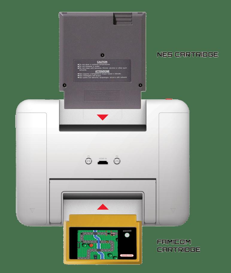 Schluckt NES- und Famicon-Spiele. (Foto: My Arcade)