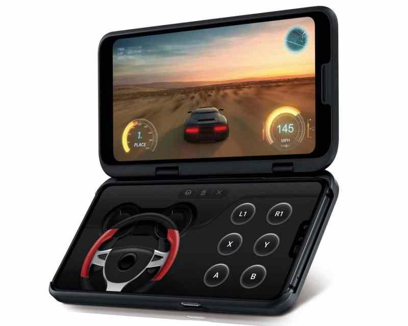 Das ist ein Smartphone mit einem zweiten, optionalen Display. (Foto: LG)
