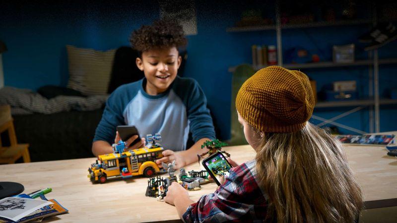 LEGO Hidden Side bietet Augmented Reality. (Foto: LEGO)