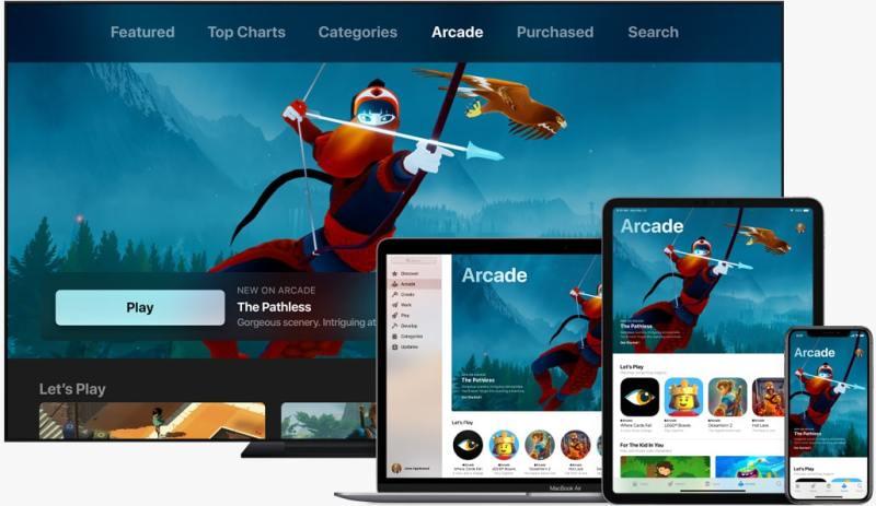 So wird Apple Arcade aussehen. (Foto: Apple / Screenshot)
