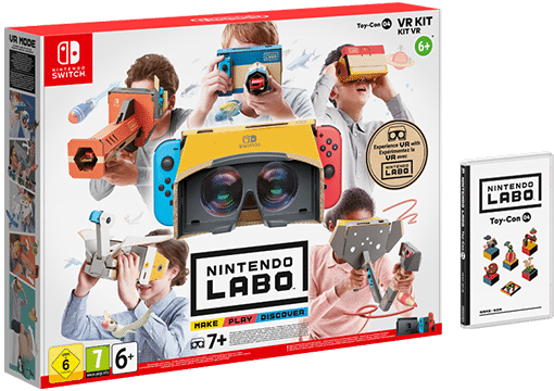 Das komplette VR-Set. (Foto: Nintendo)